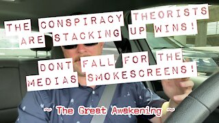 Conspiracy Theorists Are Stacking Up Wins! Don't Fall For The Smokescreen!