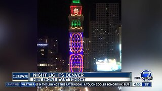 Night Lights Denver features three new shows tonight