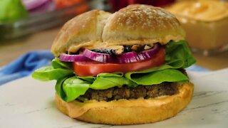 Rich Lentil Burger