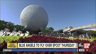 Blue Angels to soar over Spaceship Earth at Epcot on May 2