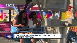 7 In Your Neighborhood: Live from the Taylor Summer Festival