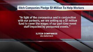 Ilitch Companies Pledge $1 million to help workers