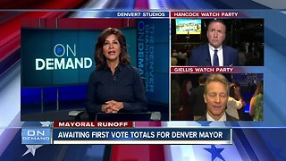 Denver mayoral runoff election - 7 p.m. update