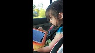 Little girl has deep conversation with Siri