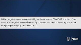 Local, pregnant moms say 'no' to COVID-19 vaccine