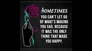 Sometimes You Can't Let Go [GMG Originals]
