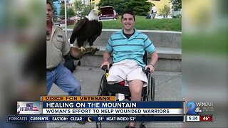 A woman's effort to help wounded warriors