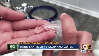 DWYM: Hand Sanitizer vs. Hand Washing