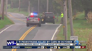 Pedestrian deaths prompt public safety reminders ahead of Halloween