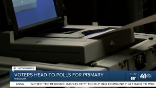 Voters head to polls for primary