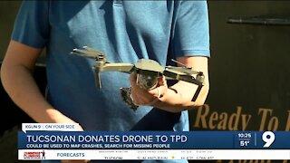 Tucsonan donates drone to the Tucson Police Department