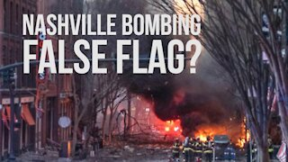 Is Nashville Bombing A False Flag To Blame On Trump Supporters??