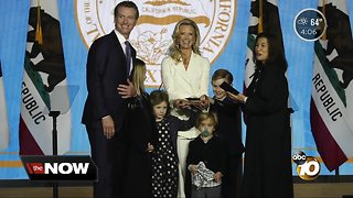 Gavin Newsom sworn in as California Governor