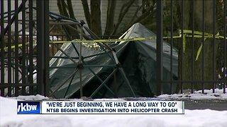NTSB begins investigation into helicopter crash