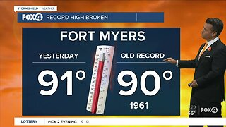 Record Breaking Heat