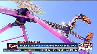 Ride inspections ongoing before Tulsa State Fair kicks off