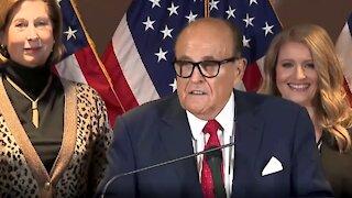 Explosive: Trump Campaign Election Fraud Press Conference