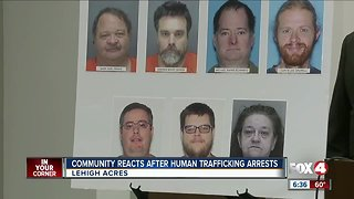 Community Reacts After Human Trafficking Arrests