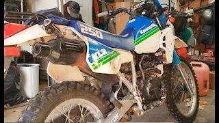 Old Bike Repair and Ride