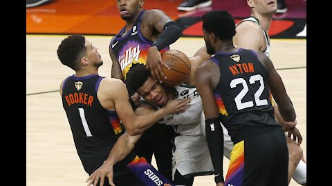 BUCKS VS SUNS FULL GAME 3 NBA FINALS HIGHLIGHTS July 11, 2021