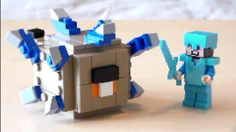 Lego Minecraft Elder Guardian Tutorial