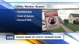 Police searching for utility worker imposters