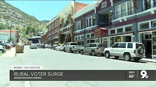 Voter surge in rural areas