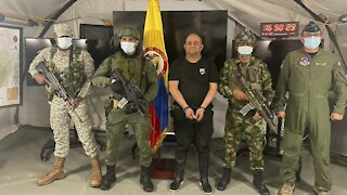 Colombia's Most-Wanted Drug Lord Captured In Jungle Raid