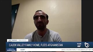 Cajon Valley Family Home, Fled Afghanistan