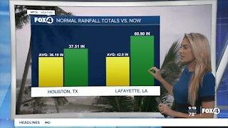 Nicholas dumps rain along Gulf Coast