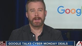 Google talks Cyber Monday deals