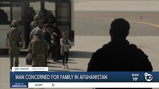 Man concerned for family stuck in Afghanistan