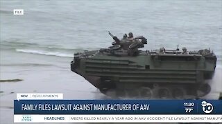 Lawsuit being filed against AAV manufacturer in deaths of Marines, sailor off San Clemente Island