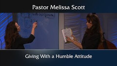 Giving With a Humble Attitude - Footnote to 1 Peter #38