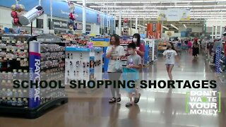 School Shopping Shortages