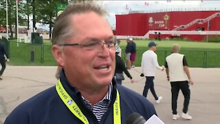 Jim Richerson speaks about impact of Ryder Cup on Wisconsin