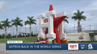Astros return to World Series for third time since moving Spring to WPB