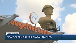 Golden Driller Plaza dedicated