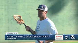 Casey Powell lacrosse academy kickoff camp