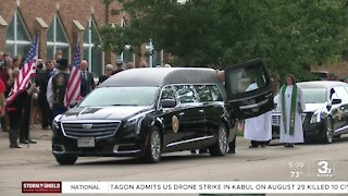 Fallen marine Cpl. Daegan Page laid to rest at Omaha National Cemetery