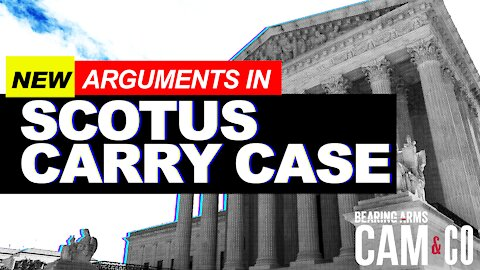 New Arguments In SCOTUS Carry Case