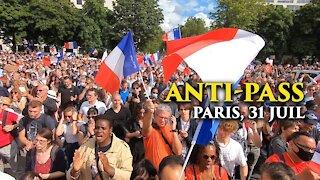 Manifestations Contre le Pass Sanitaire - 31 juillet 2021, Paris