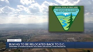 Bureau of Land Management HQ to be relocated to D.C.