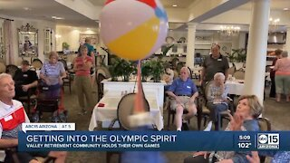 Valley retirement community creates its own Olympic style competitions