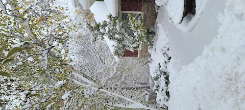 October snow storm
