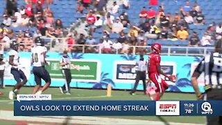 FAU looks to keep home win streak alive