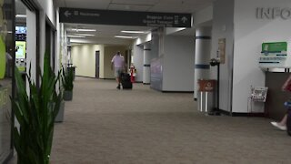 The number of passengers flying out of Capital Region International Airport dipped by 75 percent in 2020, but those numbers are slowly rebounding.