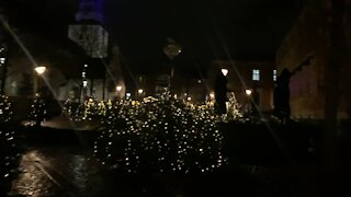 Christmas 🎄 Street Decorations In Aalborg part 1