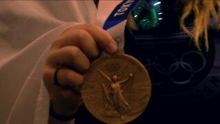 Trap shooter bronze medalist returns to Milwaukee