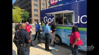 U.S. Bank's Good Truck performs random acts of kindness